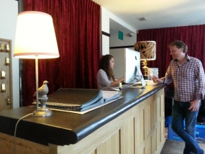 Incheck bij Hotel Le Berger Brussel