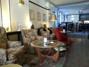 Lobby Hotel Le Berger Brussel