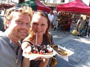 Wafels en crepes in Brussel