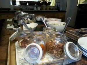 Weckpotjes ontbijt Hotel Le Berger Brussel