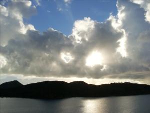 Caribische wolkenkunst