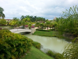 Uitzicht vanuit het JW Marriott Hotel in Panama