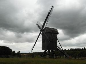 Prachtige molen in Hjerl Hede