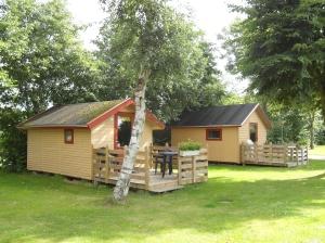 Nog meer cabins, ook erg knus
