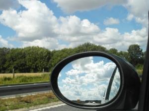 Wolkenpracht onderweg