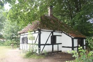 Deens huisje van vroeger