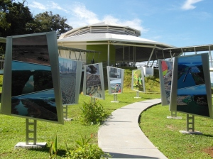 Het Visitors Center in Gatun