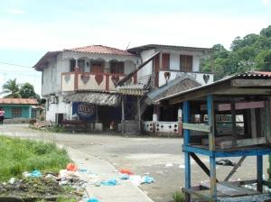 Huisjes in Portobelo