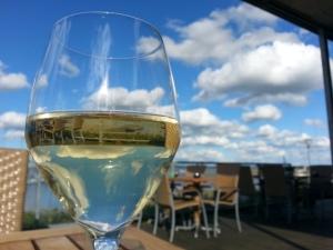 Een wijntje inclusief prachtig uitzicht