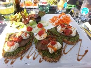 Lunchgerecht Poivre & Sel