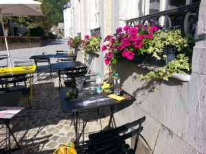 Terras in Spa, Belgie