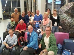 Team Nijkerk voor bouwreis Habitat for Humanity