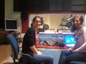 Radio interview Barbara van Kesteren