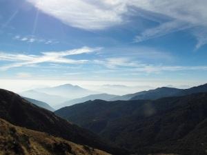 Uitzicht Ananpurna trekking