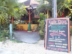 Wees welkom en relax bij Café Goa in Negril op Jamaica