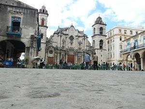 Gezelligheid op Plaza de la Catedral