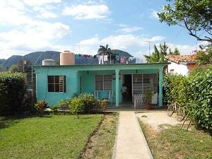 De casa's in Vinales zijn stuk voor stuk pareltjes. Wij logeerden bij Grethel y Carlos.