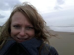 Wat een woei! Uitwaaien in Wassenaar is wat ik gedaan heb zondagmiddag. Met me, myselfie and I.