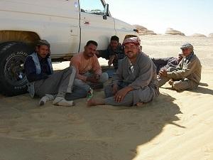 Koffietijd voor onze steun en toeverlaat in de woestijn.