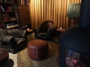 Hier was het heerlijk toeven tijdens een dagje Amsterdam. Dit is The Lobby, het restaurant van boutique hotel V.
